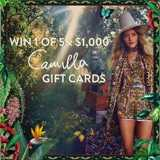 Win $1,000 Camilla Gift Cards