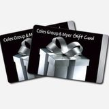 Win $1000 Coles Myer Gift Cards