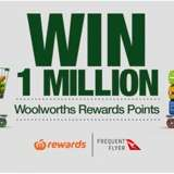Win 1,000,000 Woolworths Rewards Points