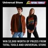 Win $1,000 worth of Universal Store Wardrobe