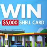 Win 1 of 24 $5,000 Shell Fuel Cards