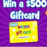 Win MrToys ToyWorld Gift Card