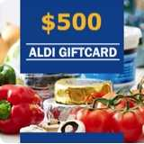 Win a $500 ALDI Gift Card