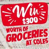 Win a Coles Groceries Voucher