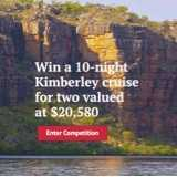 Win a Kimberley Cruise for 2