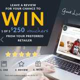 Win a Vouchers from National Product